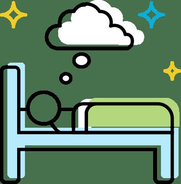 Dream Away Sleep Icon